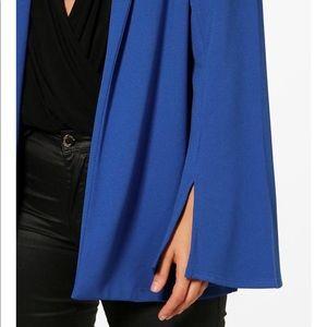 5d6bd405b2a Boohoo Jackets   Coats - Plus Leah Tailored Wide Sleeve Blazer